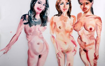 "Tawan Wattuya's special exhibition ""Paradise GoGo"" at the Patpong Museum"