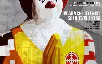 Do or Die: Solo exhibition opening by Headache Stencil